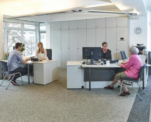 Kundenberatung - Bauverein Rüstringen