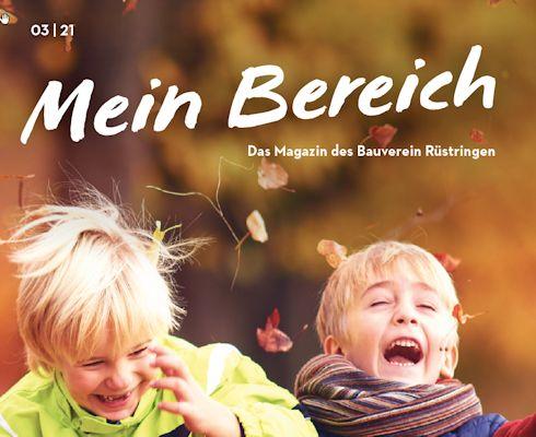 Mein Bereich – Magazin Ausgabe 03 21 - Bauverein Rüstringen