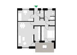 3-Zimmerwohnung Typ G