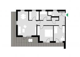 3-Zimmerwohnung Typ I