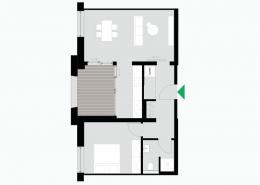 2 Zimmerwohnung Altbau - Typ B - Siebethsburg Wilhelmshaven