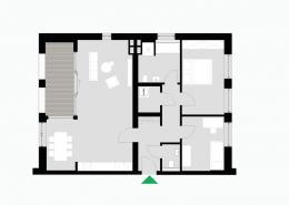3 Zimmerwohnung Altbau - Typ A - Siebethsburg Wilhelmshaven