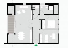 3 Zimmerwohnung Altbau - Typ D - Siebethsburg Wilhelmshaven